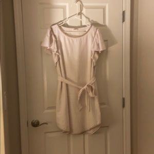 White dress, size large